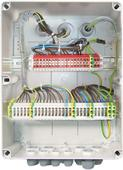 Example of units connection without control system